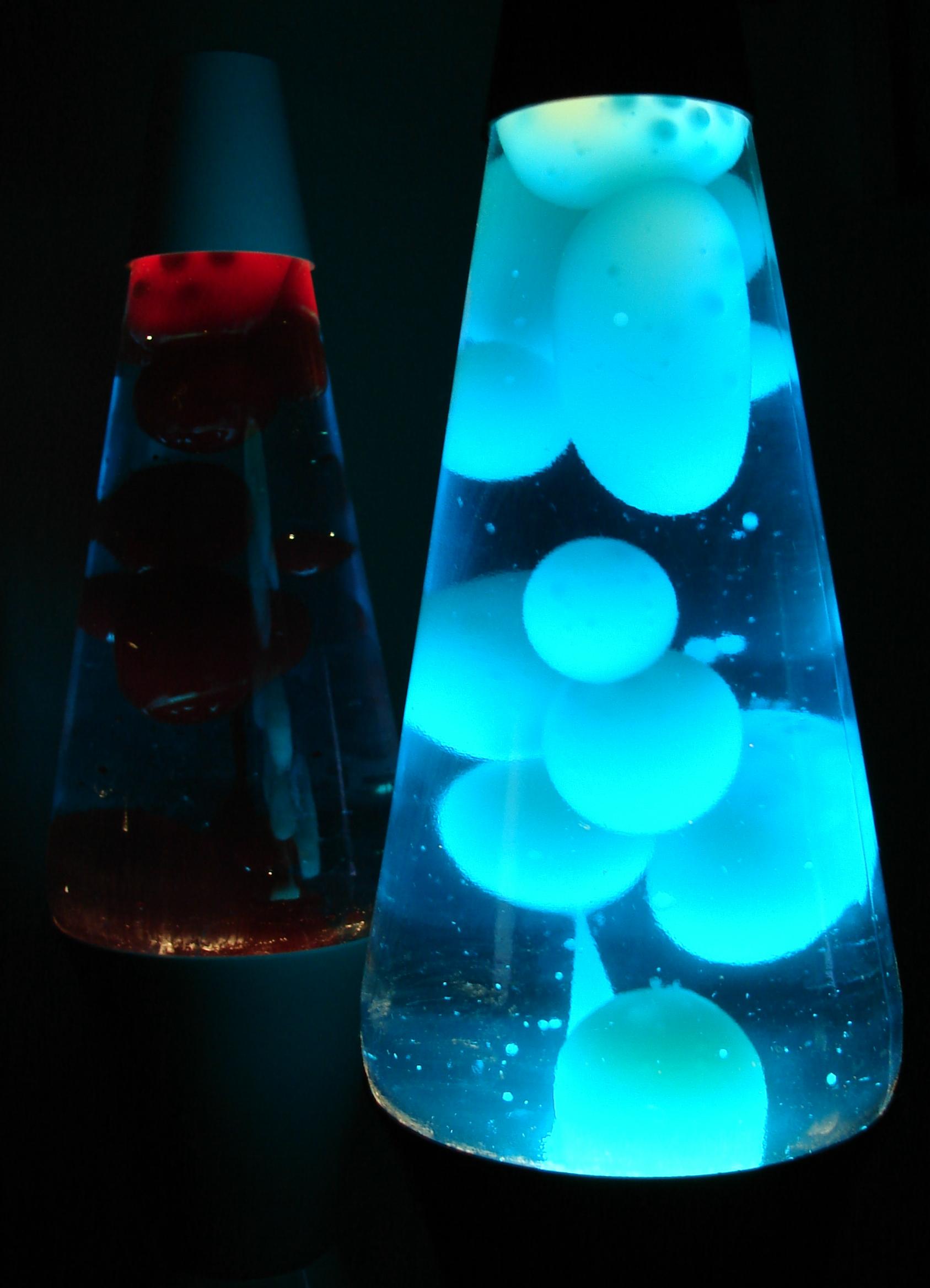 wax lamp photo - 2