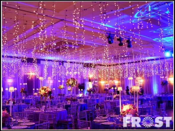 wedding ceiling lights photo - 3