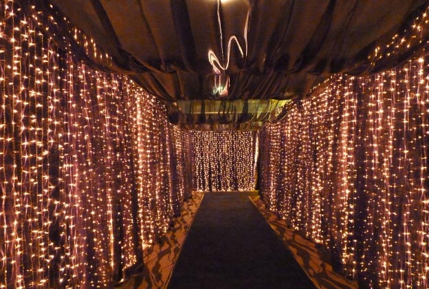 wedding ceiling lights photo - 6