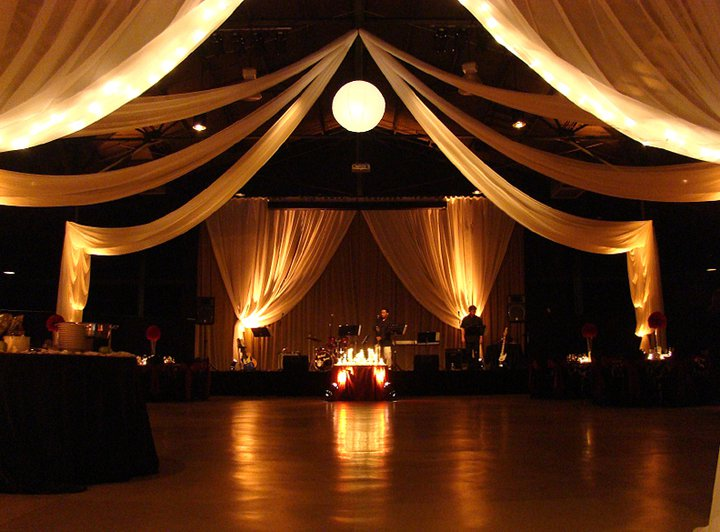 wedding ceiling lights photo - 7