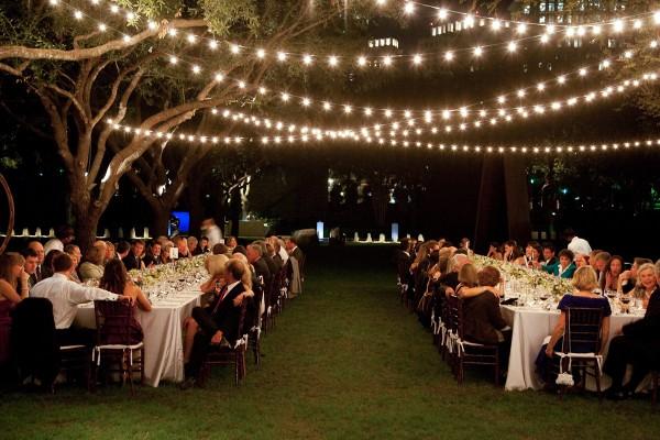 wedding outdoor lights photo - 8