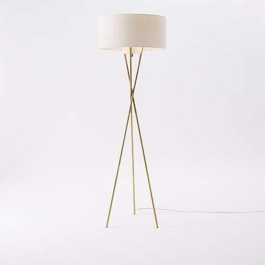 west elm floor lamp photo - 1