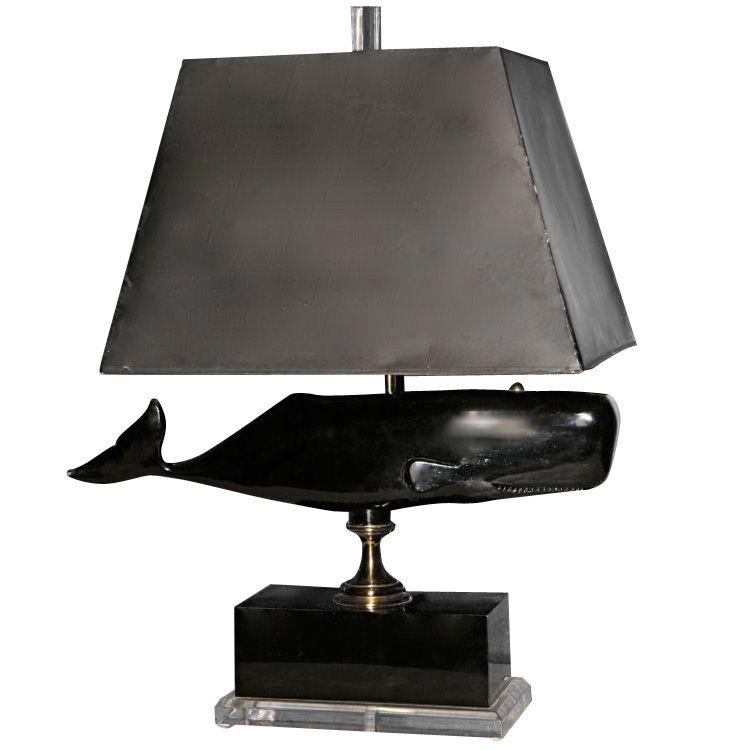 whale lamp photo - 1