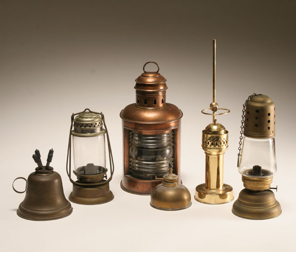 whale oil lamps photo - 10