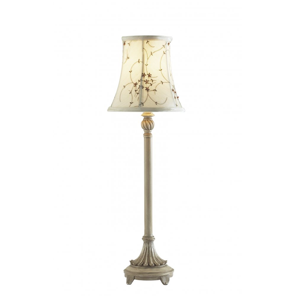 white candlestick lamp photo - 2