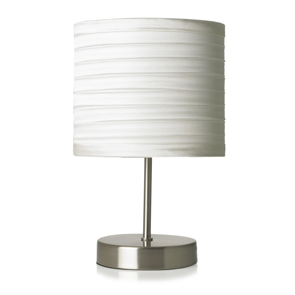 white candlestick lamp photo - 6