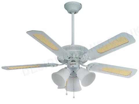 white ceiling fan light photo - 1