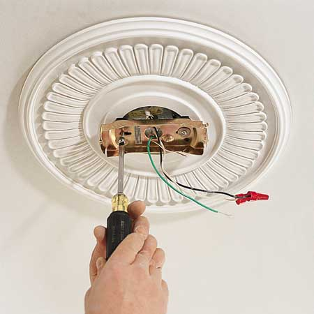 white ceiling fan light photo - 4