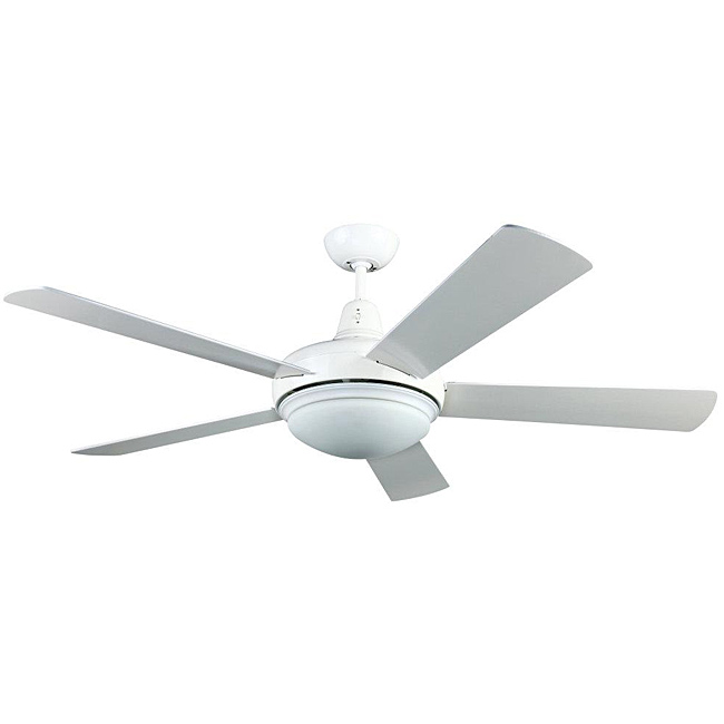 white ceiling fan light photo - 5