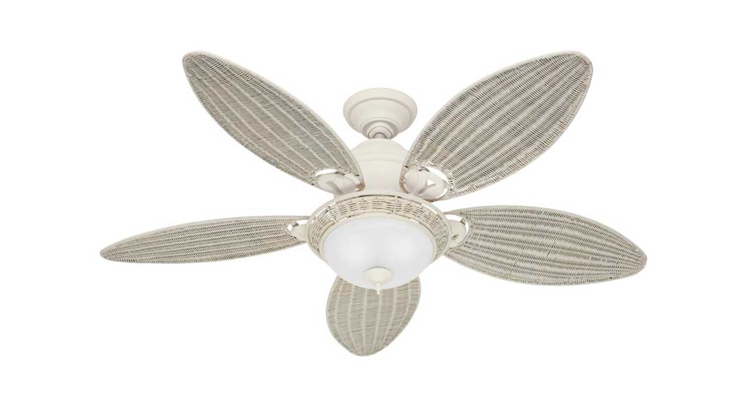 white ceiling fan light photo - 8