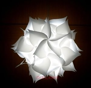 white ceiling light shades photo - 9