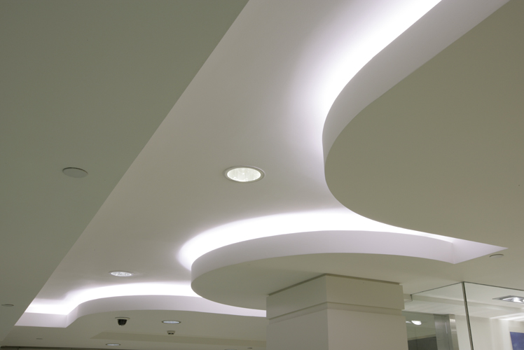 white ceiling lights photo - 1