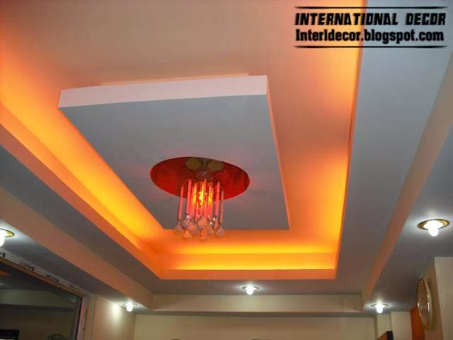 white ceiling lights photo - 5