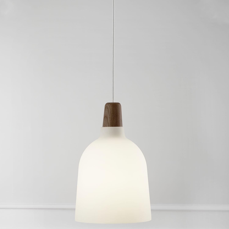 white ceiling pendant light photo - 4