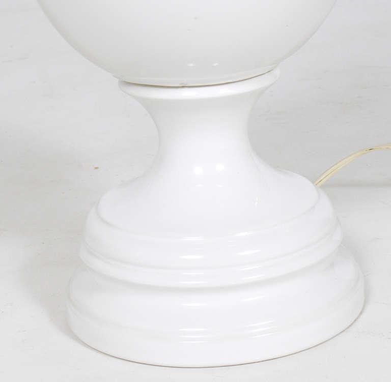 white ceramic lamps photo - 9