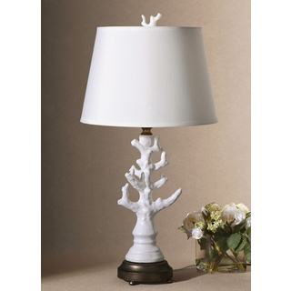 white coral lamp photo - 7