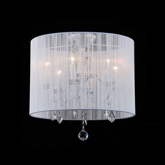 white drum ceiling light photo - 10