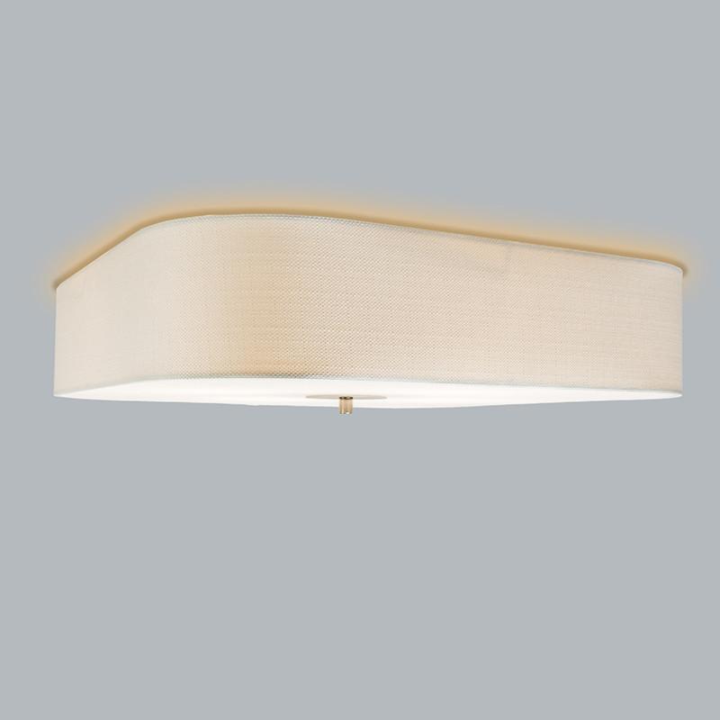 white drum ceiling light photo - 6