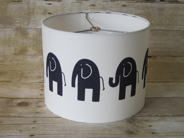 white elephant lamp photo - 6