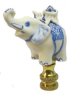 white elephant lamp photo - 8