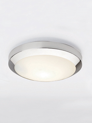 white glass ceiling light photo - 1
