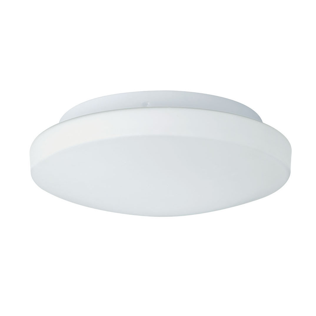 white glass ceiling light photo - 5