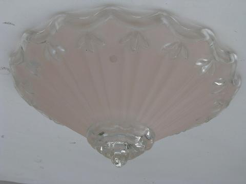white glass ceiling light photo - 9