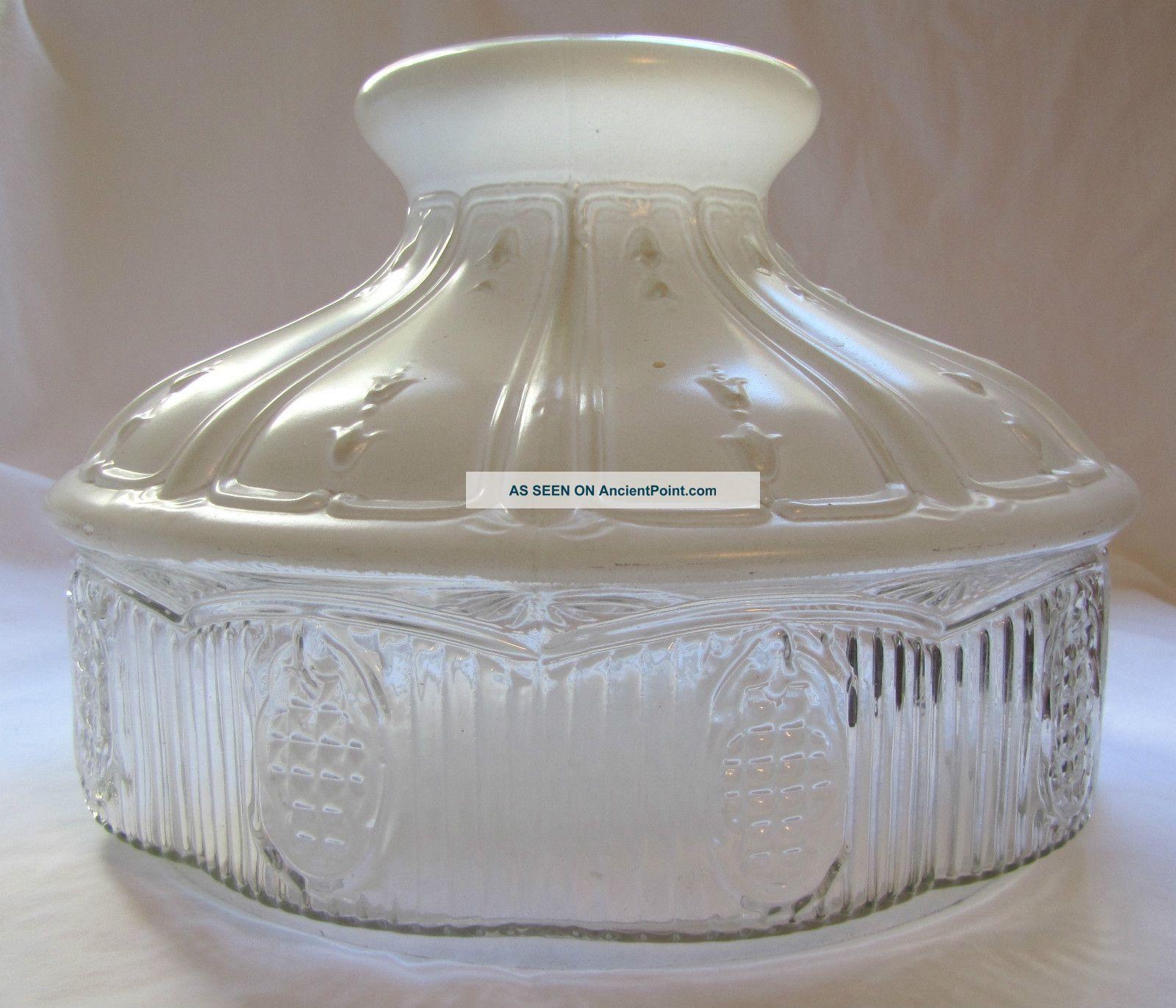 white glass lamp photo - 3