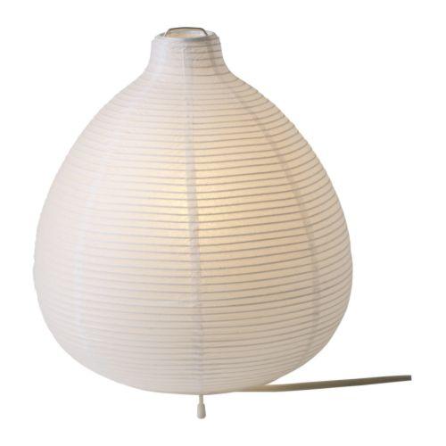 white lamp table photo - 8
