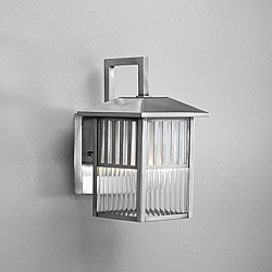 white outdoor wall light fixtures photo - 1