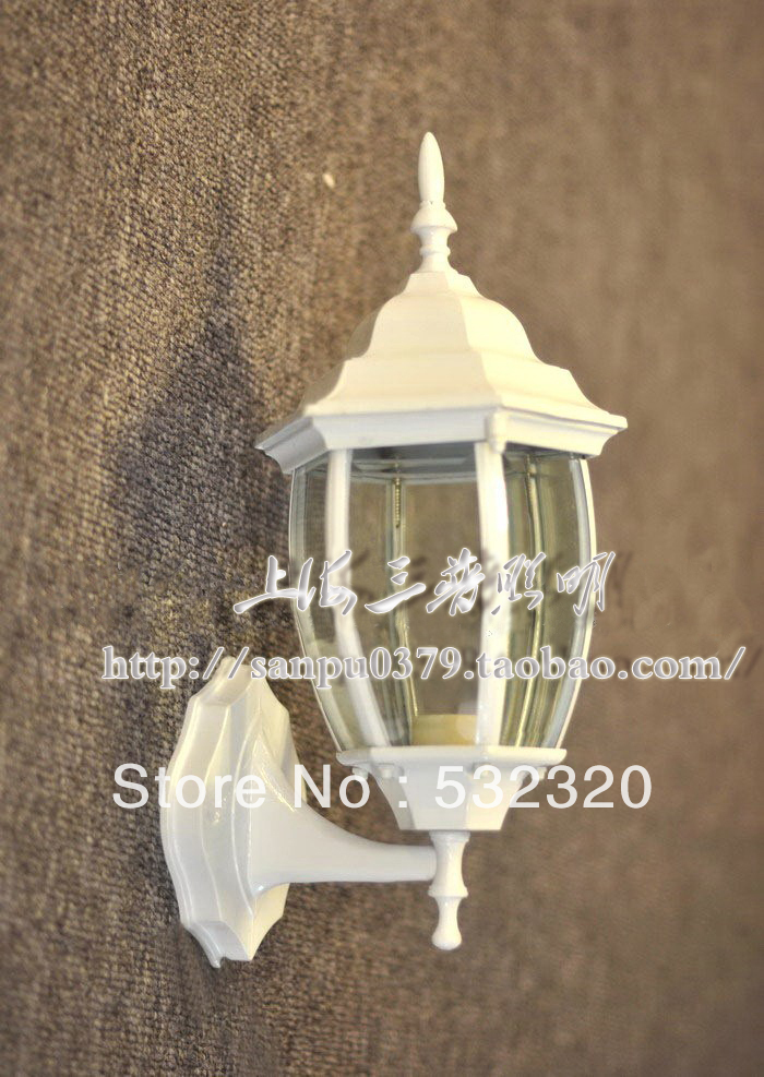 White Outdoor Wall Light Fixtures Warisan Lighting