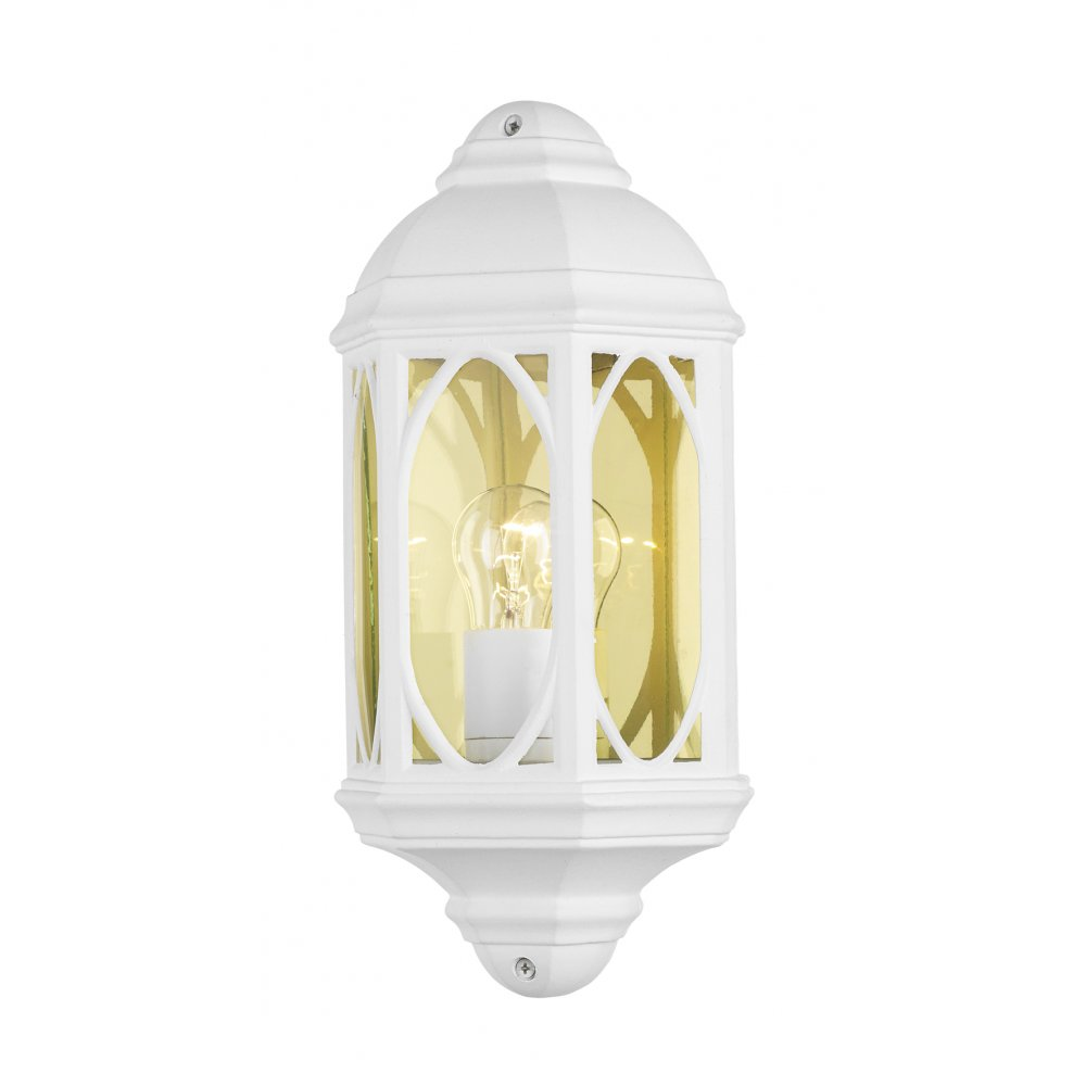 white outdoor wall lights photo - 7