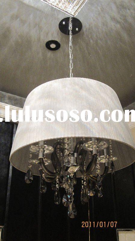 white pendant ceiling light photo - 1