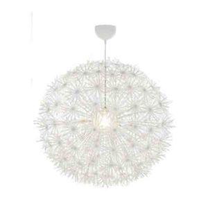 white pendant ceiling light photo - 3