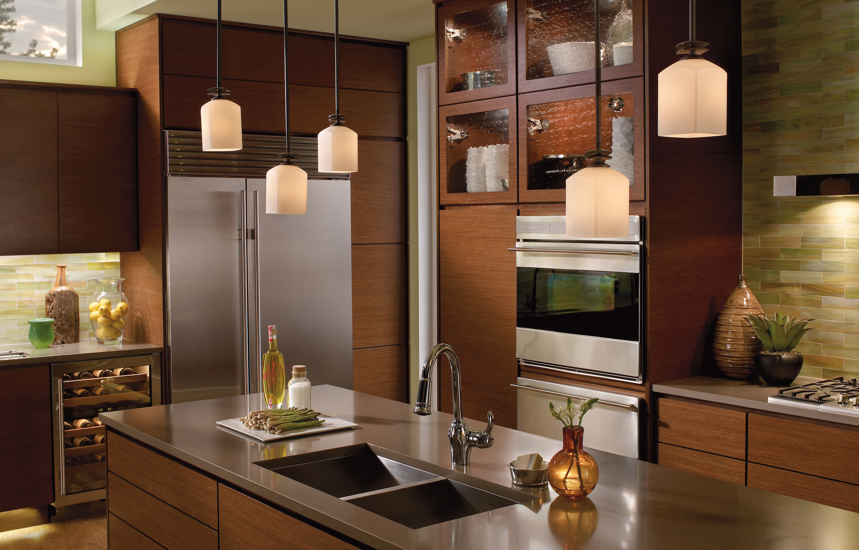 Awesome Hanging Kitchen Lights #8: Hanging ...