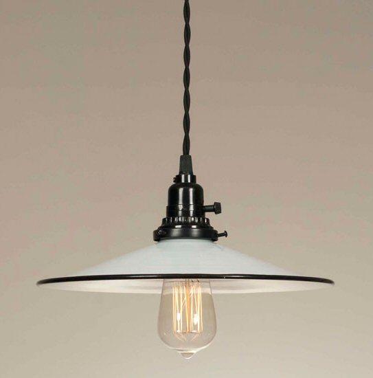 white pendant lamp photo - 8
