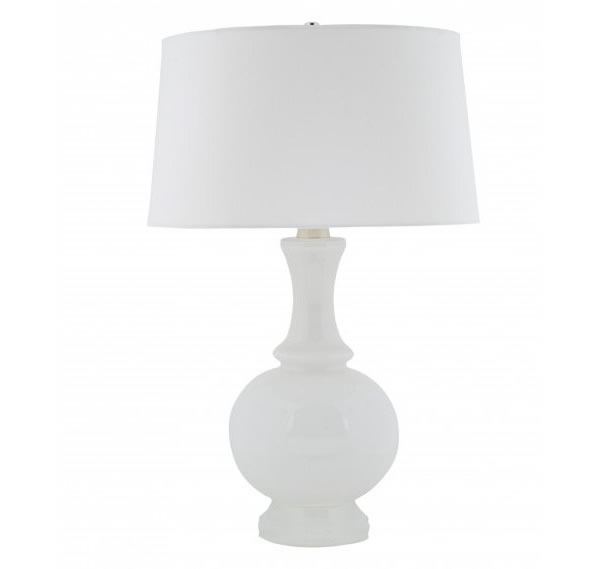 white table lamps photo - 1