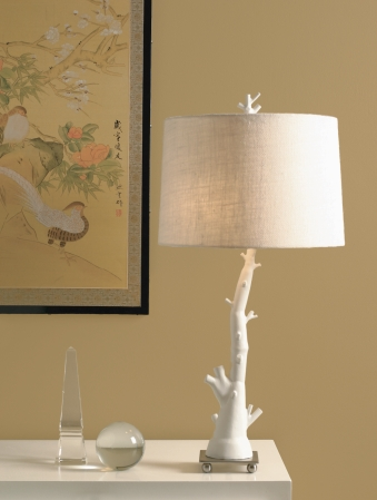 white table lamps photo - 7