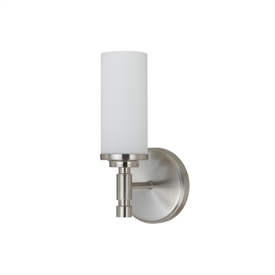 white wall sconce light photo - 10