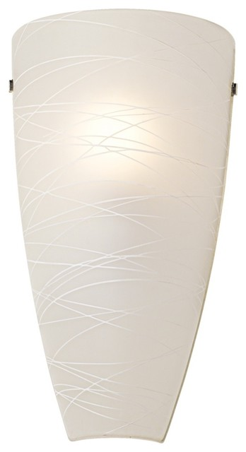 white wall sconce light photo - 2