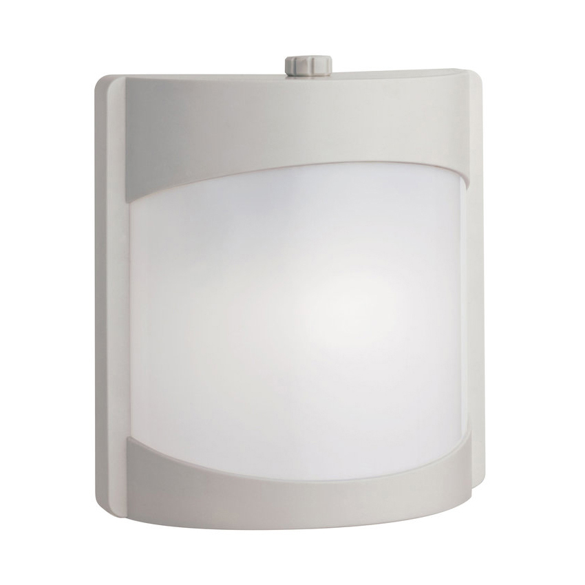 white wall sconce light photo - 3