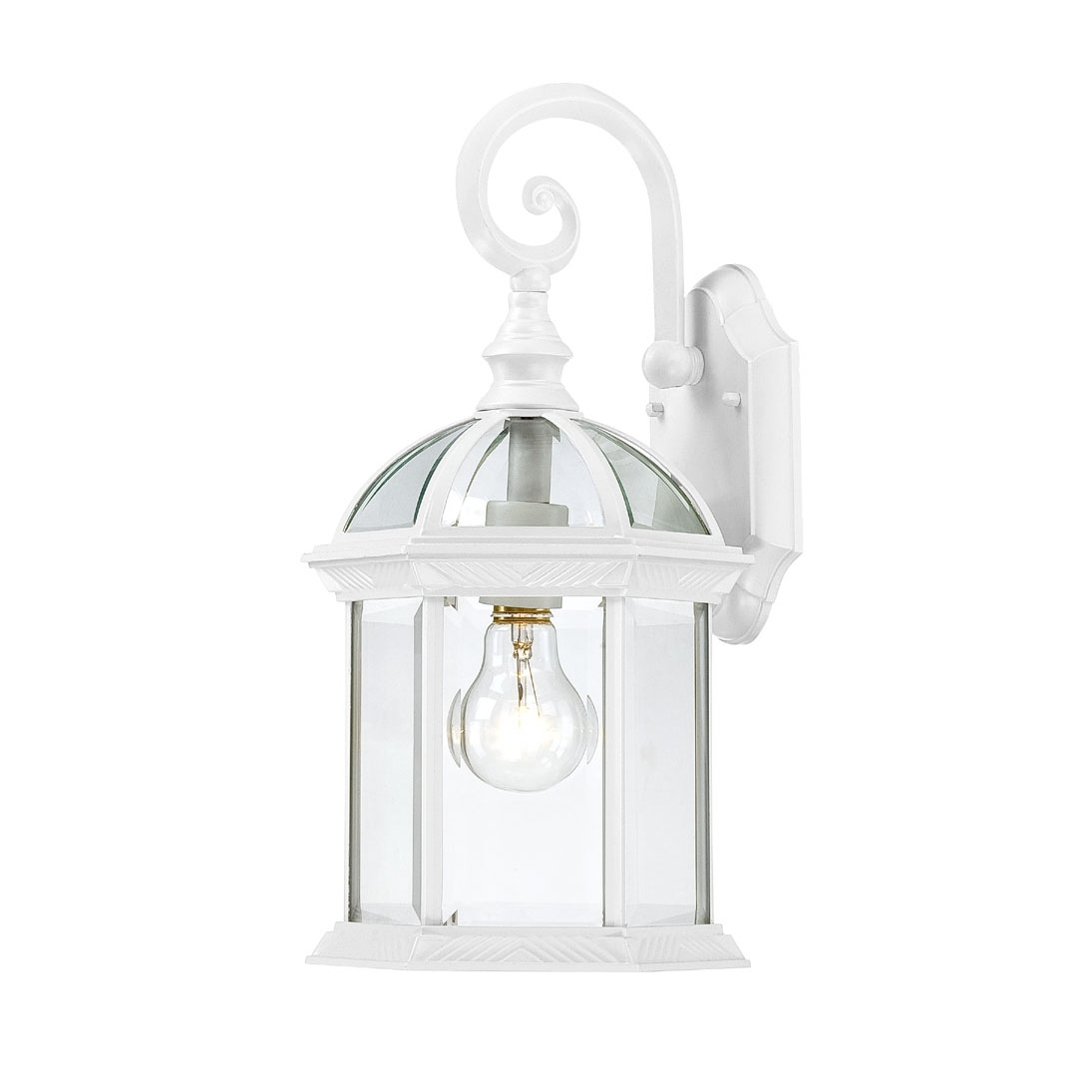 white wall sconce light photo - 5