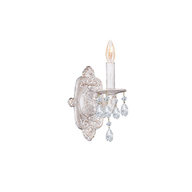 white wall sconce light photo - 6