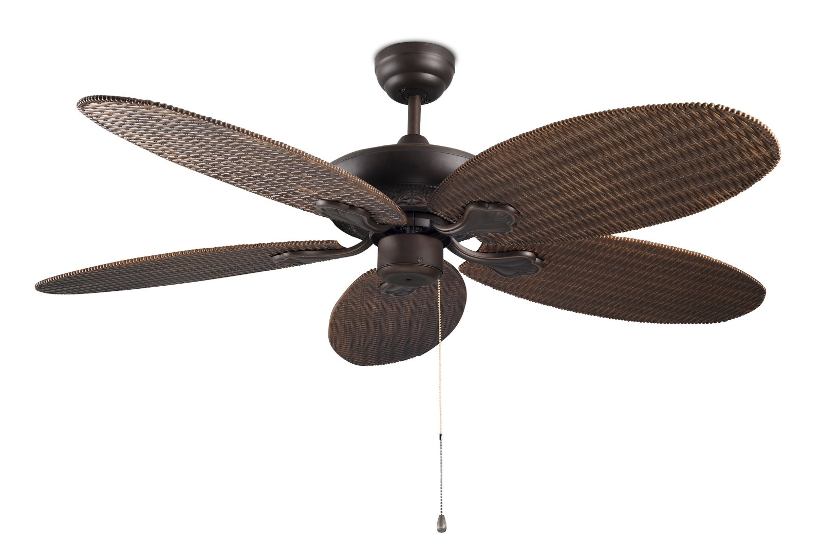 wicker ceiling fans photo - 2