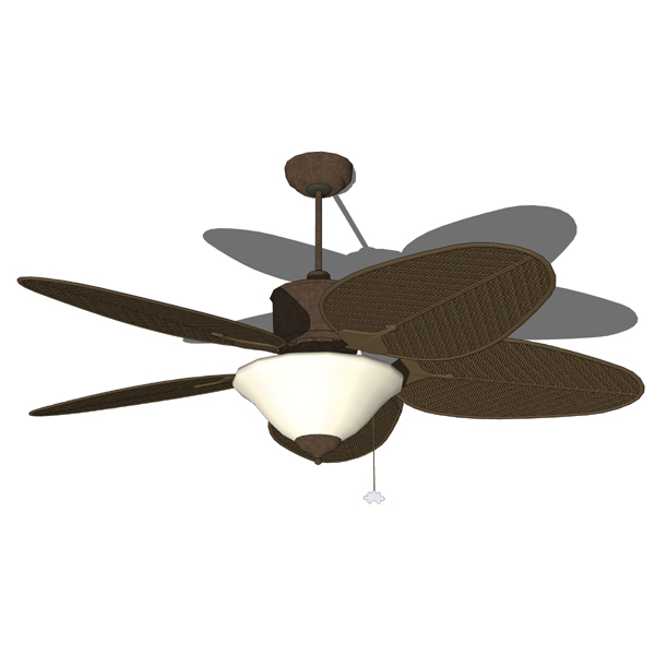 wicker ceiling fans photo - 5