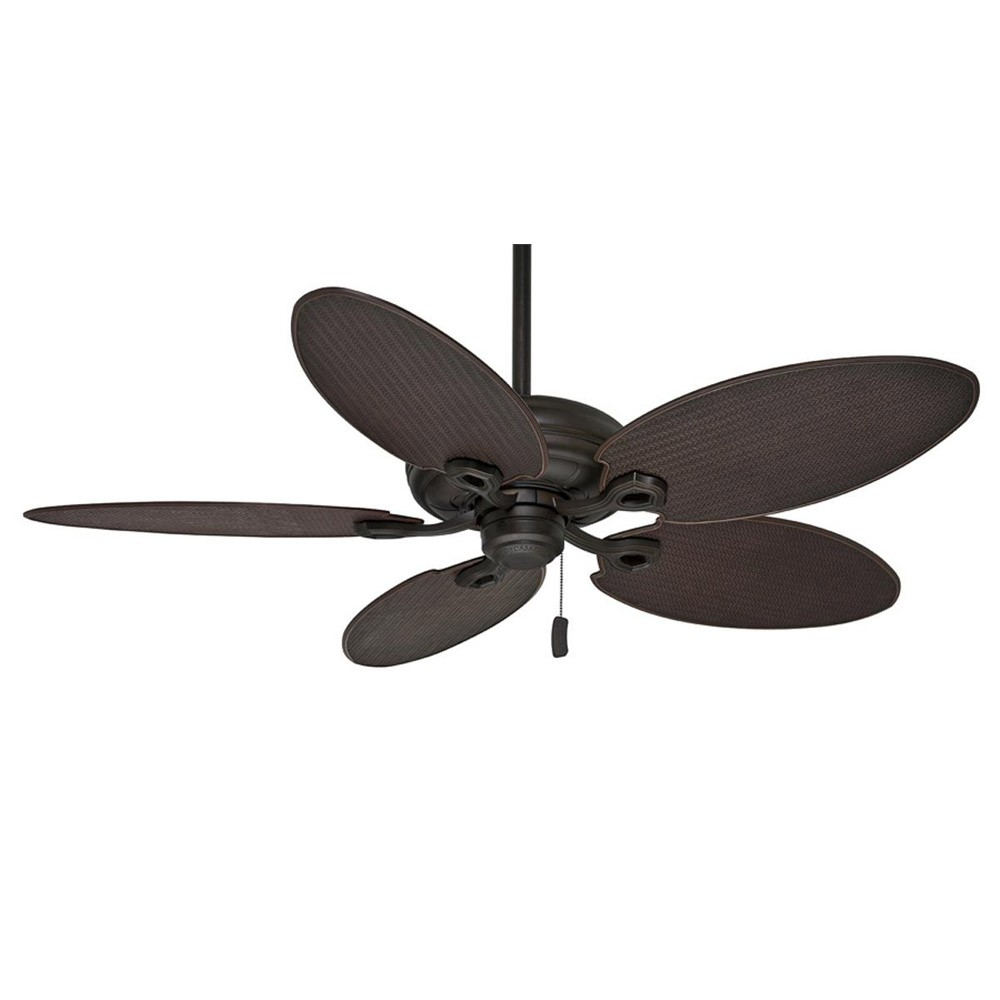 wicker ceiling fans photo - 6
