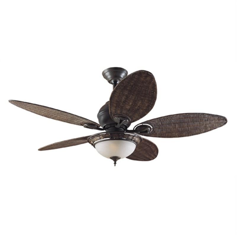 wicker ceiling fans photo - 8