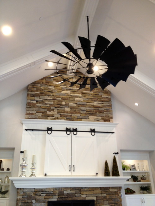 windmill ceiling fan photo - 1