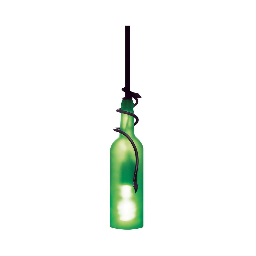 wine bottle ceiling light photo - 5