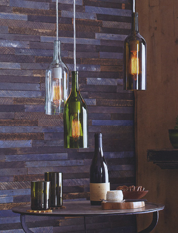 wine lamps photo - 7